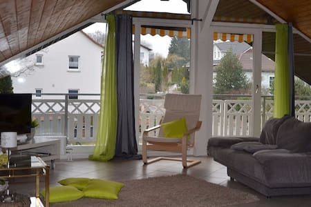 Moderne Ferienwohnung in Abtsteinach im Odenwald - Abtsteinach - Apartemen