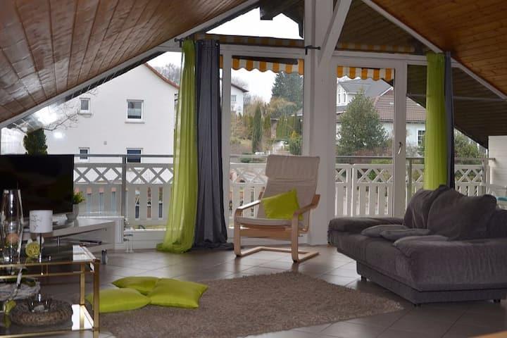 Moderne Ferienwohnung in Abtsteinach im Odenwald