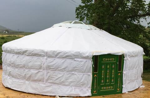 The Yurt Experience - Gigha