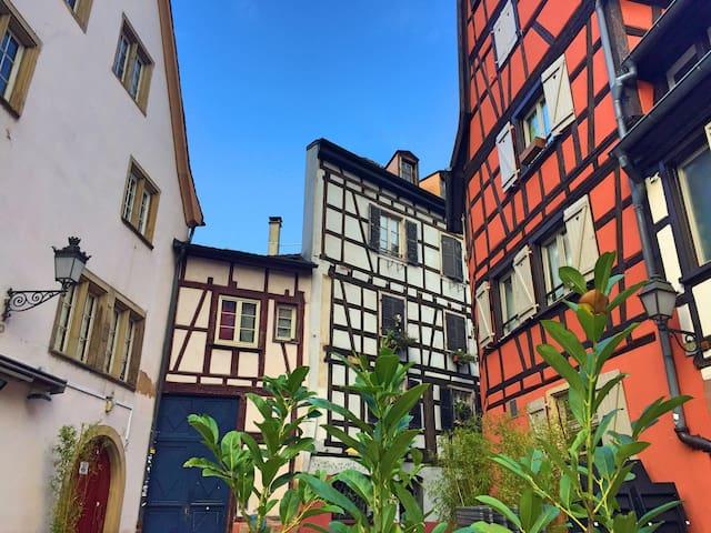 Historic centre, Petite France, typical & cozy!