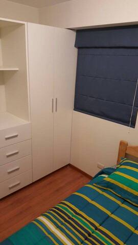 Private room with plenty of storage room for your clothes and personal belongings