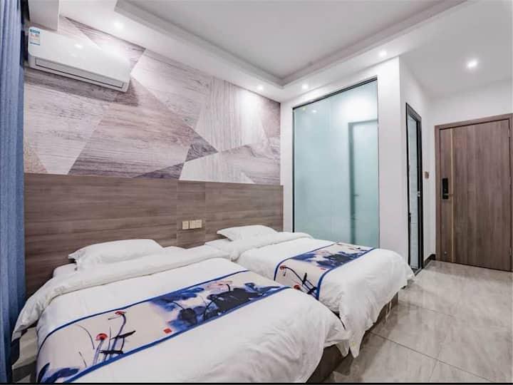 【艾禾】温馨双床房