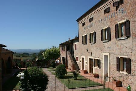 Fattoria Le Chianacce - La Spiga, sleeps 2 guests - 科爾托納