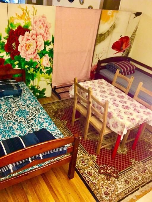 合用空间A床和B床