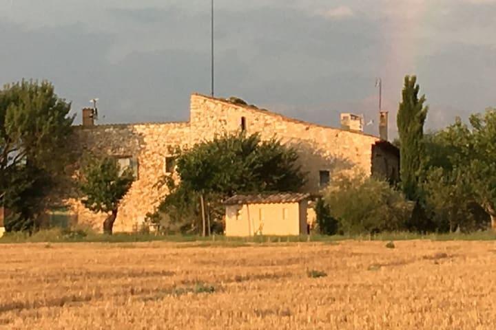 Maison, vue sublime, plateau Valensol, Quinson