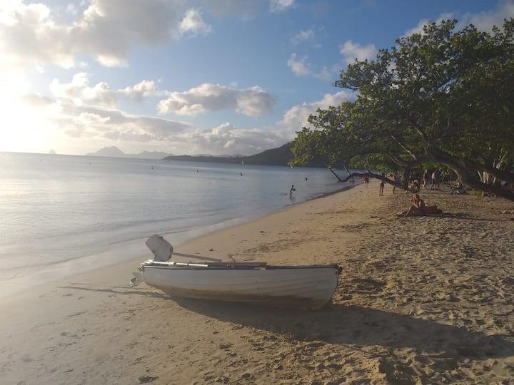 Studio à louer à Sainte-Anne Martinique