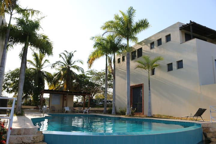 Beautiful pool house with BBQ Grill and Kayak Free - Barú - Dom