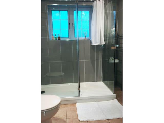The Garden Room shower