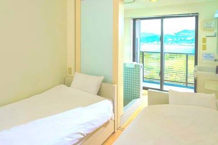 E-horizon Resort コンドミニアム瀬底_Two beds_A