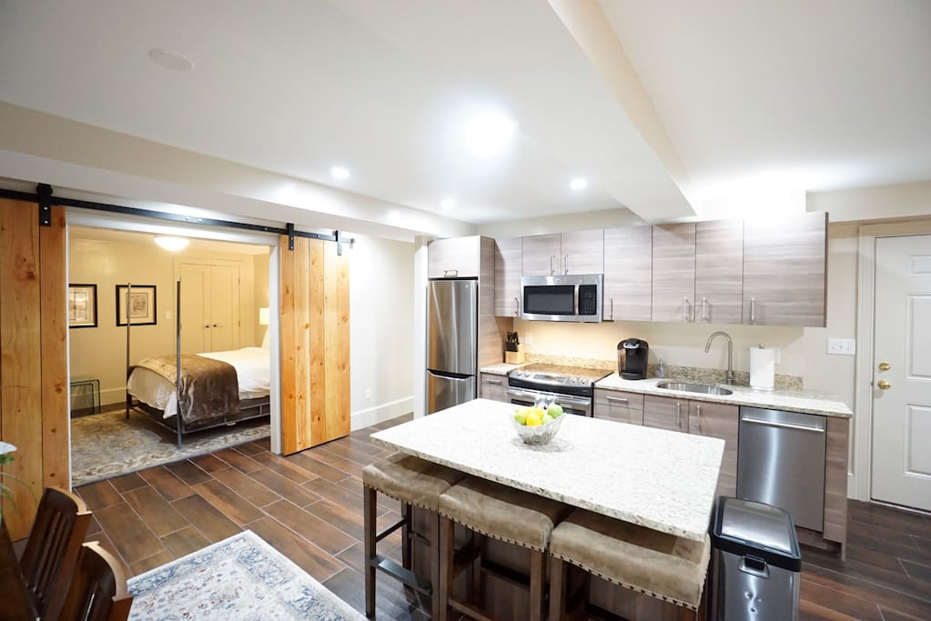 Open Living Room / Kitchen