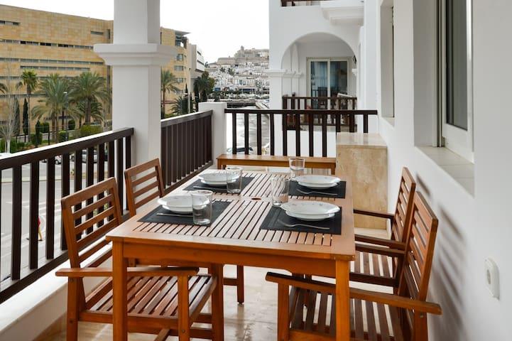 Charming flat in Ibiza city center