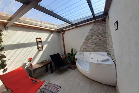 Ático spa jacuzzi (Casas Toya)