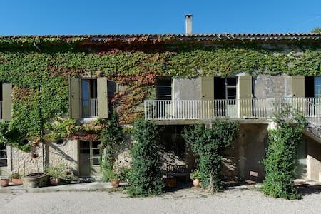 Grande chambre sur Domaine viticole - Gignac