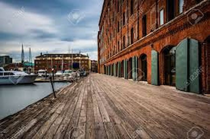 Waterfront Fells Point Condo