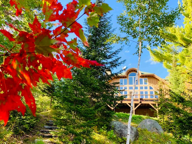 Secluded Lake Chalet Near Whiteface & Lake Placid