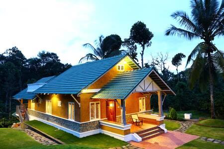 Garden view suite in a coffee plantation - Kalpetta