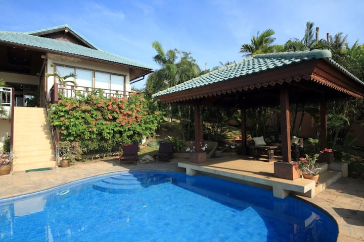 Villa with stunning sea views, pool and garden - Ko Samui - Villa