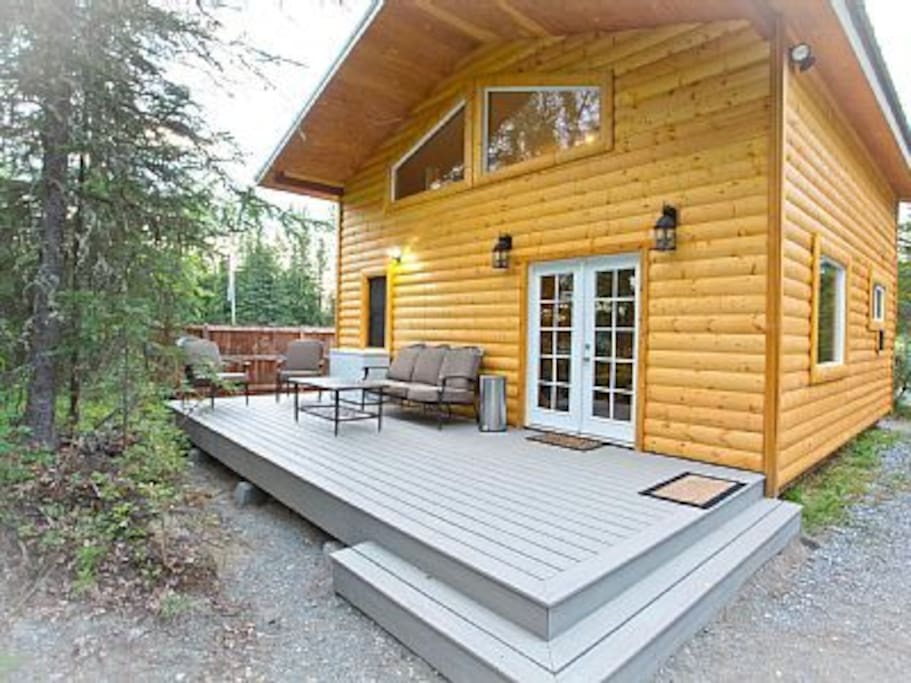 Camelot on the Kenai, enjoy private sport fishing on your own docks for 24 hours!