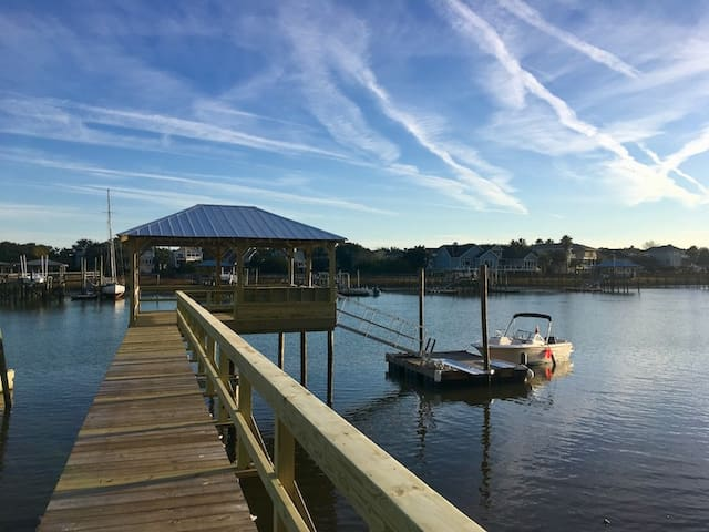 Goat Island Bungalow near IOP - BOAT REQUIRED!!!