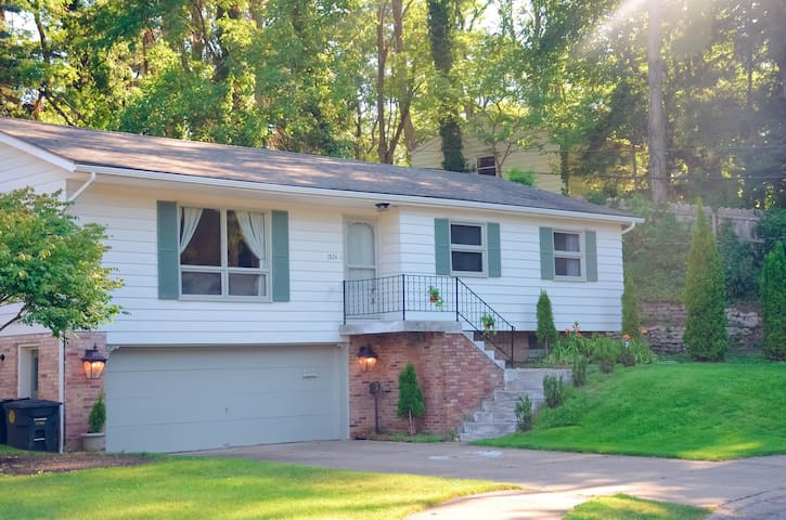 Furnished entire basement with walkout garage - South Bend - House