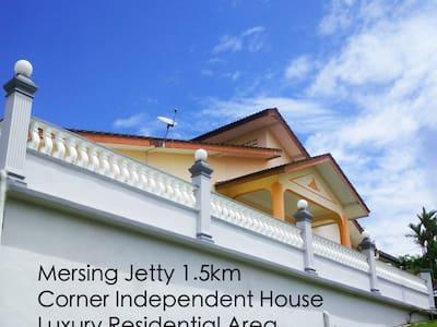 SingHome Holiday House - Mersing - Hus