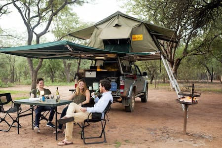 Africa ready expedition vehicle - Pilanesberg National Park - Tente