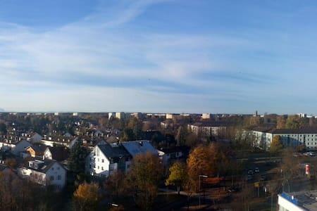 Über dächer von München 8 Stock mit Aplen Blick - München - Lakás