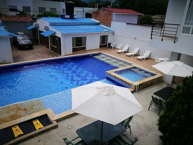 101 Apartamento Familiar Oasis en Villeta 101