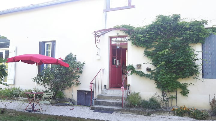 Etage privatif dans maison individuelle