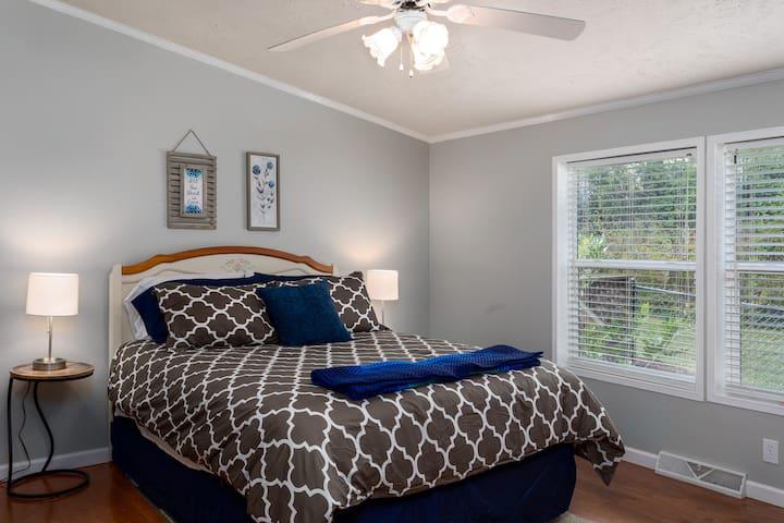 Bedroom #2 Queen size comfy bed