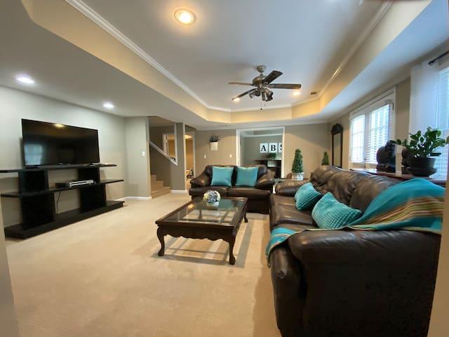 Livingroom sleep with sofa