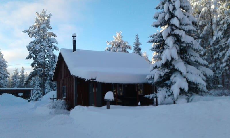 Familjevänlig stuga nära sjön i härliga Härjedalen