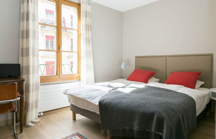 Flat for two in the city center
