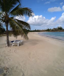 Perfect Beach Vacation Rental on Dickenson Bay
