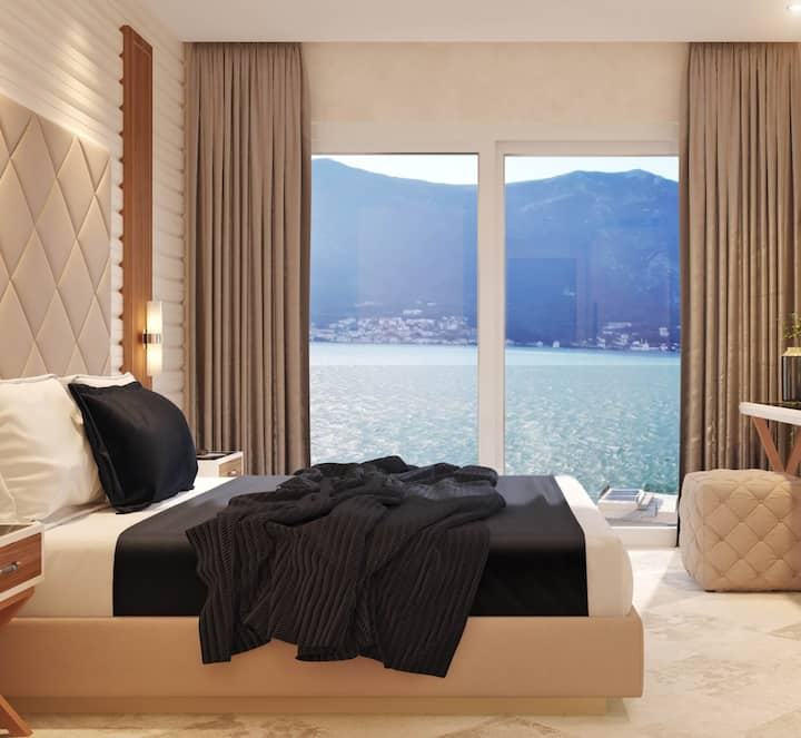 Room with Pool View and Sea View - R Palazzo