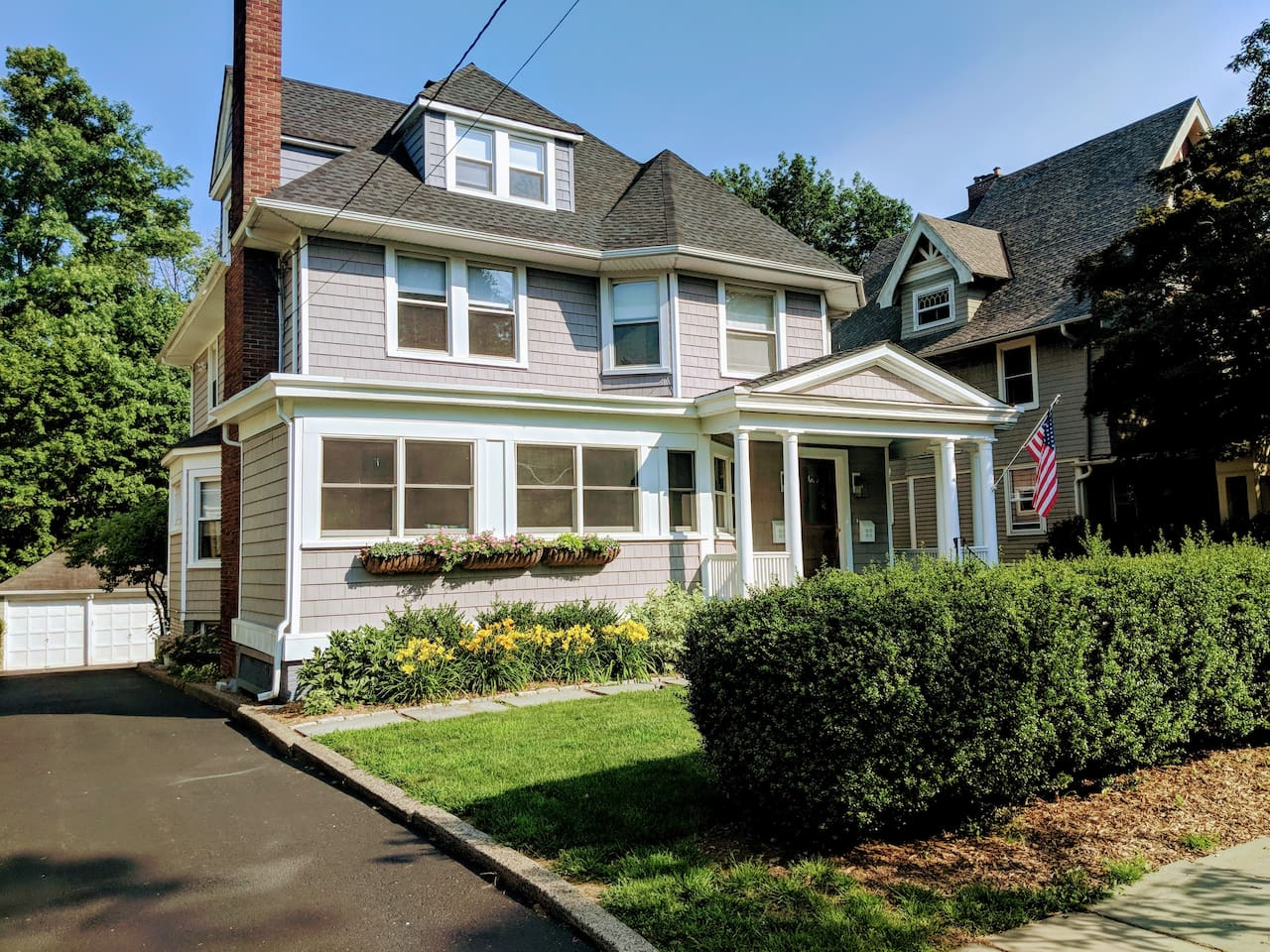 A charming Victorian home is one of Montclair's most desireable areas with private entrance and parking
