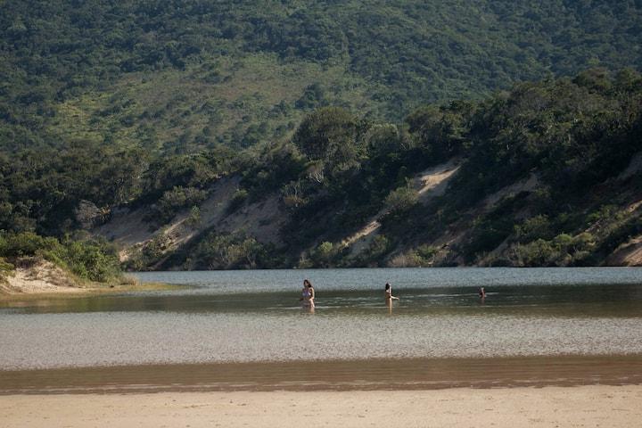 banho de laguna -Lagoinha do Leste