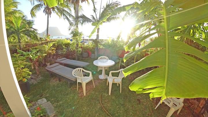 Secret Garden. Oceanfront