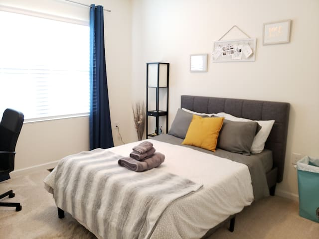 RTP/RDU- Private Bedroom/Shared Bathroom #2