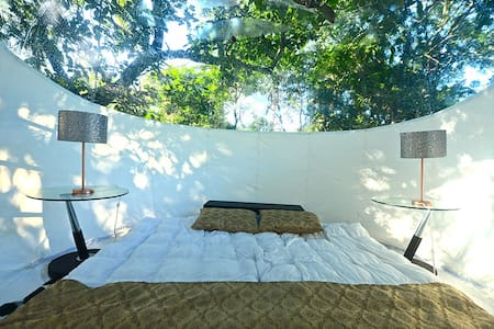 A night under the Mexican stars.Eco Glamping Itaka - Playa del Carmen