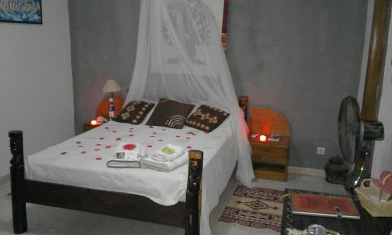 Chambre avec salle de bain privative et climatisation ...