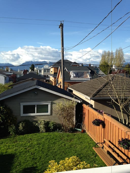A quiet neighbourhood close to all of what makes Vancouver great.....