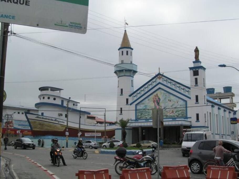 Igreja Matriz, Centro de Navegantes