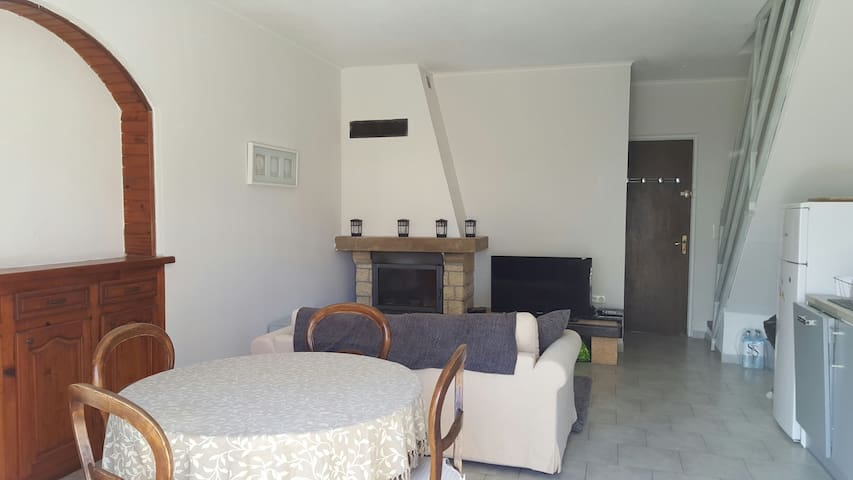 Face à la mer, jolie villa - Borgo - Dom