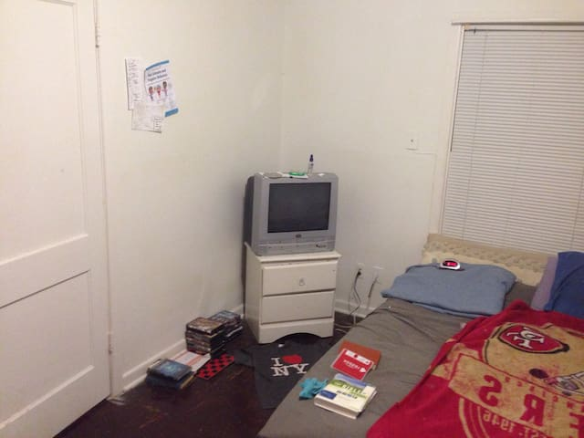 Tv, with DVD Collection and VHS player!