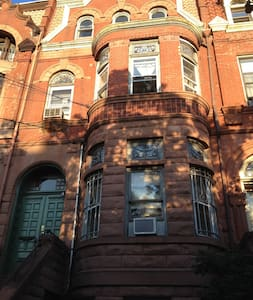3rd Floor Brownstone in Jersey City