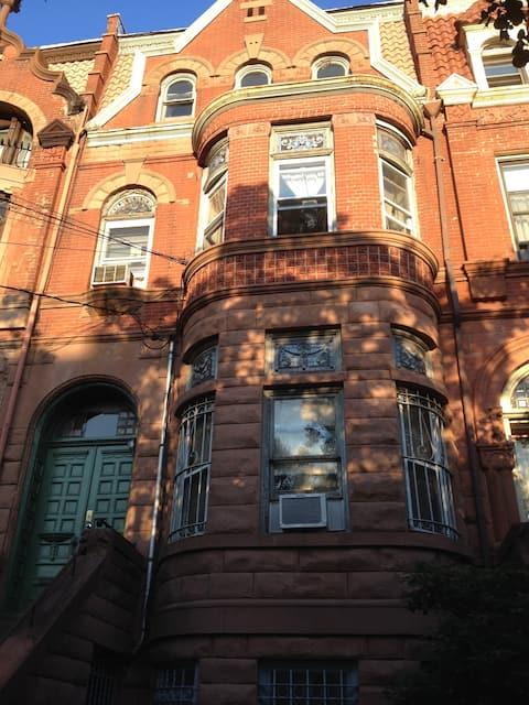 3rd Floor Brownstone in Jersey City