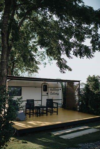 hilltop colony (caravan house)