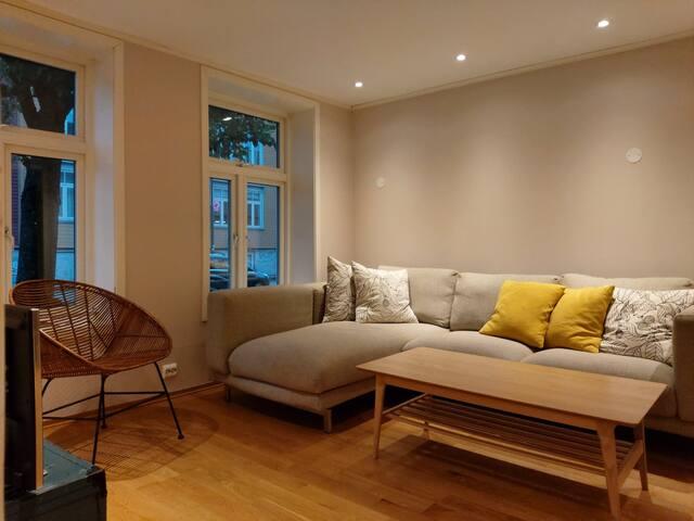 Fin og ren leilighet sentralt i Trondheim