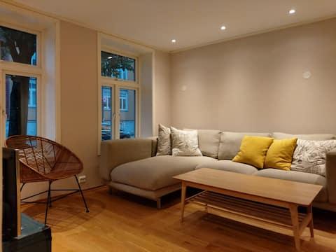 Appartement agréable et propre situé en plein centre de Trondheim.